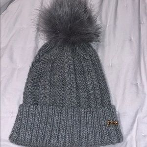 Gray Juicy Couture hat